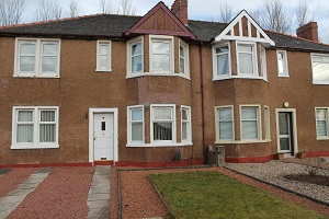 Motherwell 2 bed  cottage flat…… LET